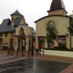 Eingang zum Village