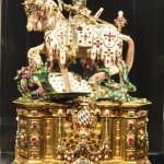 Schatzkammer in der Residenz - Statuette des Ritters St. Georg
