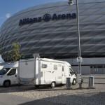 Stellplatz Allianz Arena