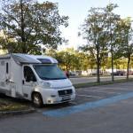 Parkplatz Michaelibad in München