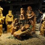 Menschengroße Krippe - Weihnachtsmarkt in Bad Homburg