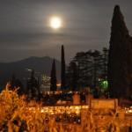 Mondaufgang am Comer See
