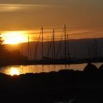 Genfer See am Abend